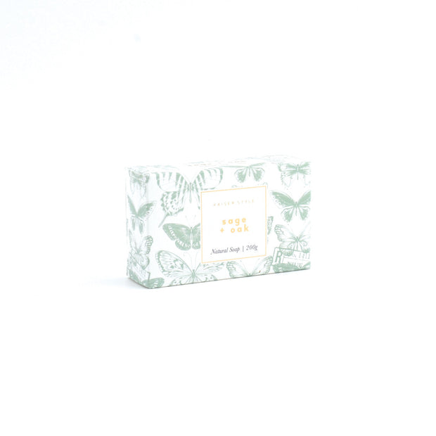 Box Soap - SAGE & OAK