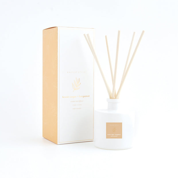 Reed Diffuser - BROWN SUGAR & BERGAMOT