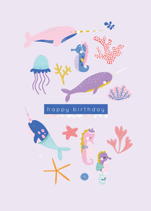 Birthday Card - Underwater