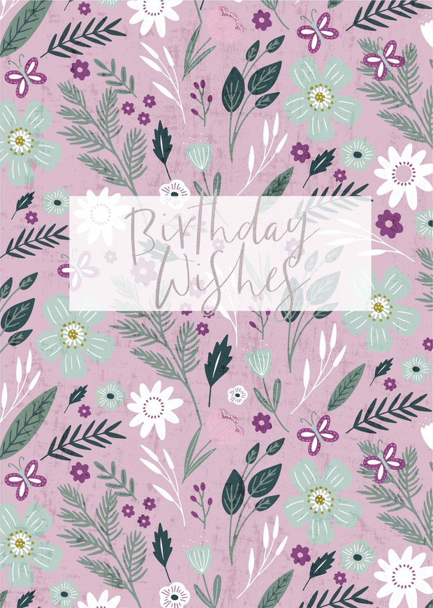 Greeting Card - DAINTY f