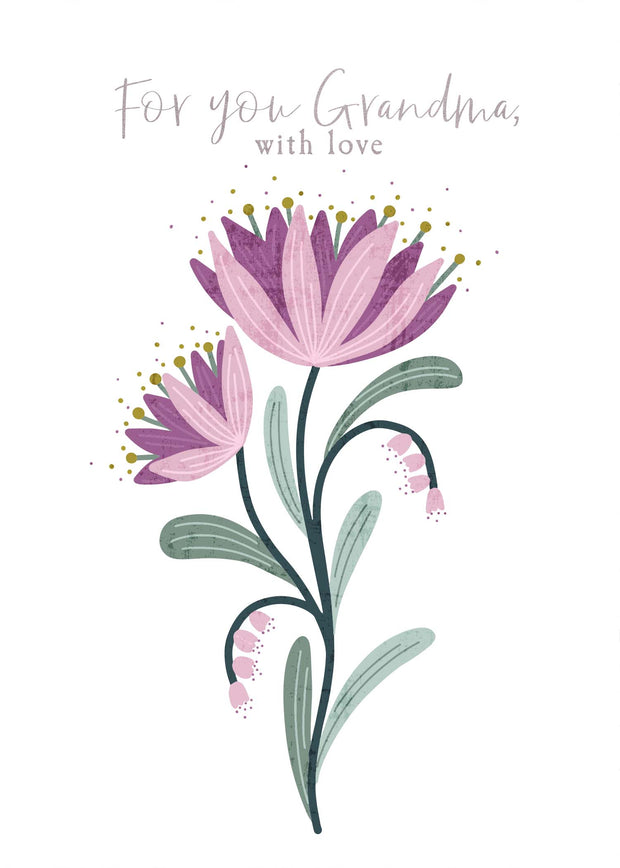Greeting Card - DAINTY w