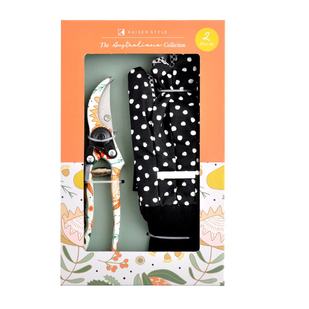 Tools - 2pc Secateurs & Gloves Set - AUSTRALIANA
