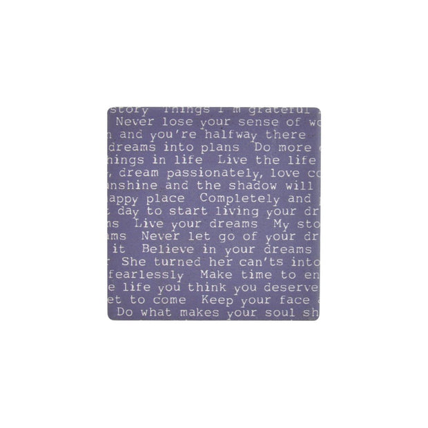 Ceramic Coaster - INDIGO BREATHE