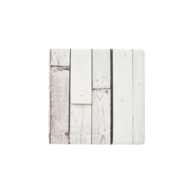 Ceramic Coaster - INDIGO WHITEWASH