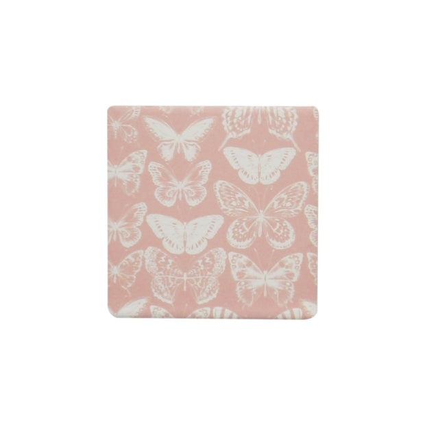 Ceramic Coaster - BOUQUET BUTTERFLY
