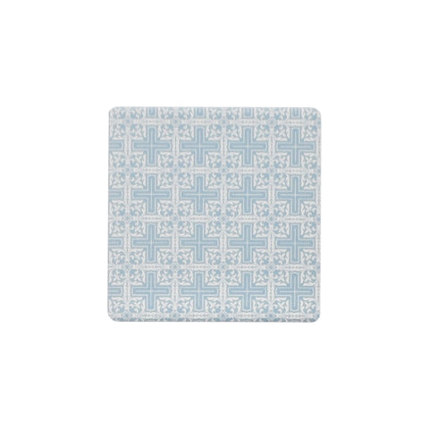 Ceramic Coaster - BOUQUET BLUE MOSAIC