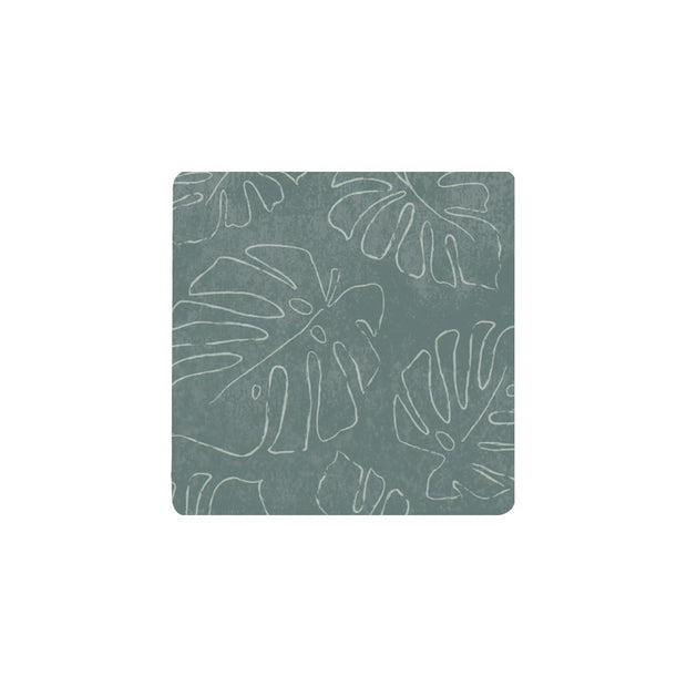 Ceramic Coaster - LUSH MONSTERA