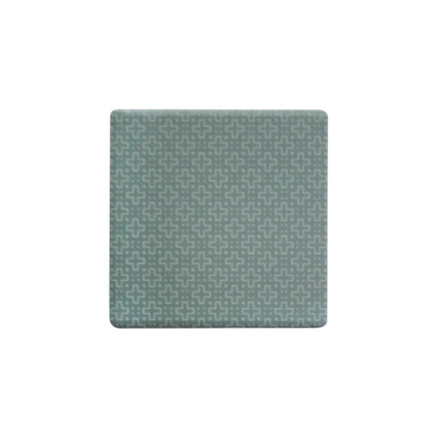Ceramic Coaster - OPULENT SAGE CROSS