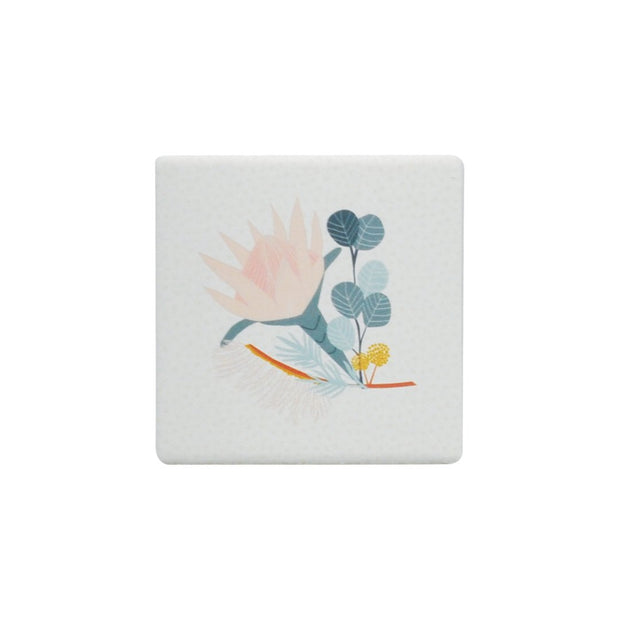 Ceramic Coaster - OPULENT WATTLE LEAF