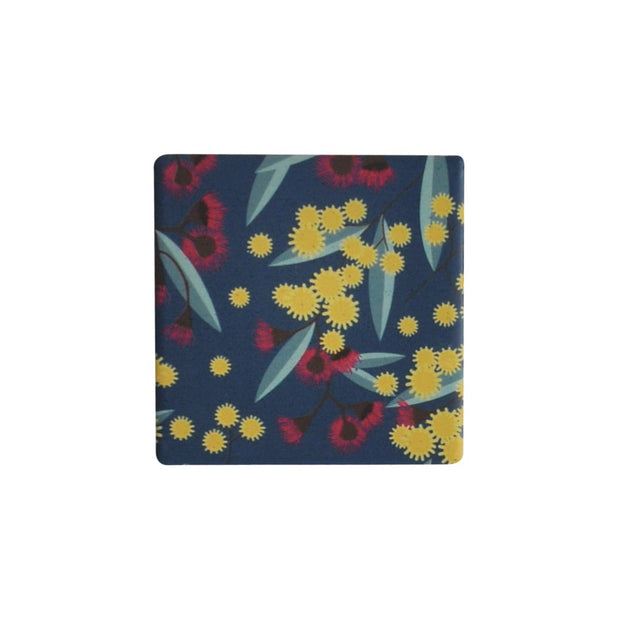 Ceramic Coaster - OPULENT WILD FLOWERS