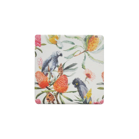 Ceramic Coaster - AUSTRALIANA NATIVE BIRDS