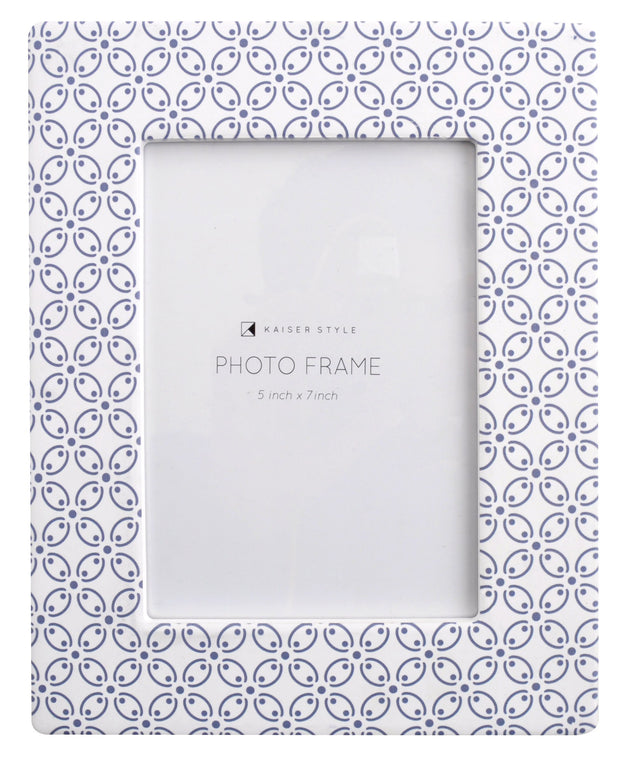 Ceramic 5x7 Photo Frame Lush - ISLAND