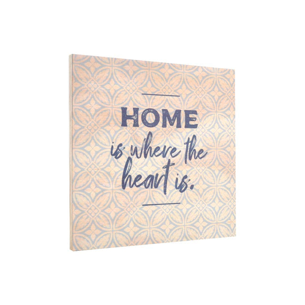 Ply Printed Plaque - HOME
