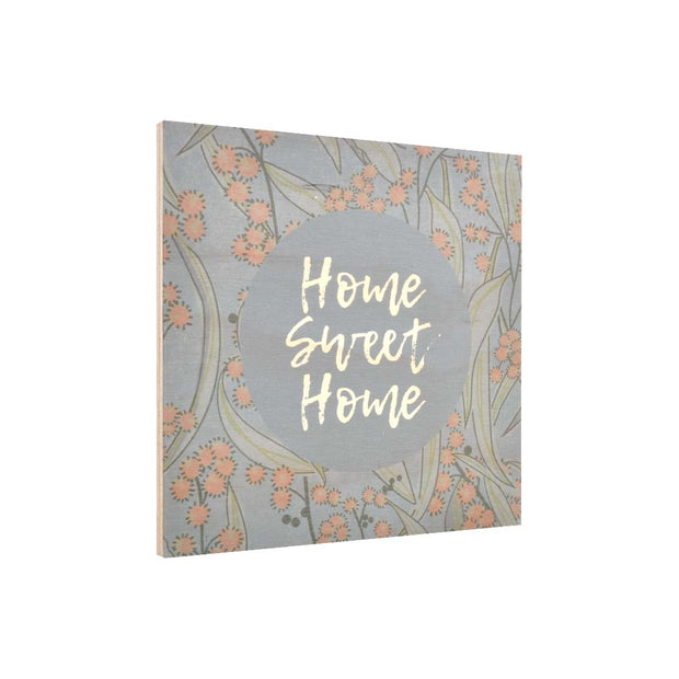 Ply Printed Plaque - WATTLE HOME