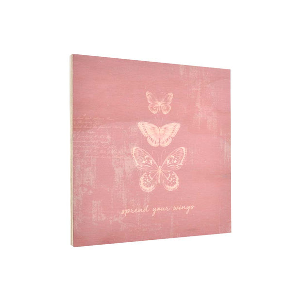 Ply Printed Plaque - SPREAD YOUR WINGS