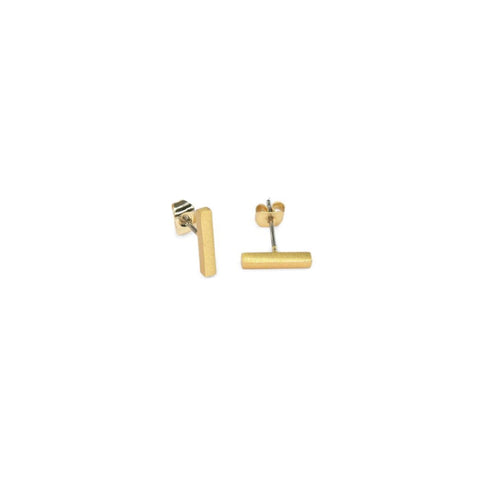 Earring - Bar - Gold
