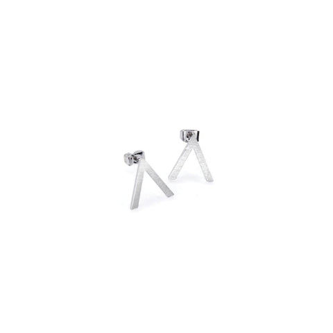 Earring - Abstract - Silver