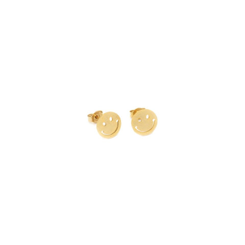 Earring - Happy - Gold