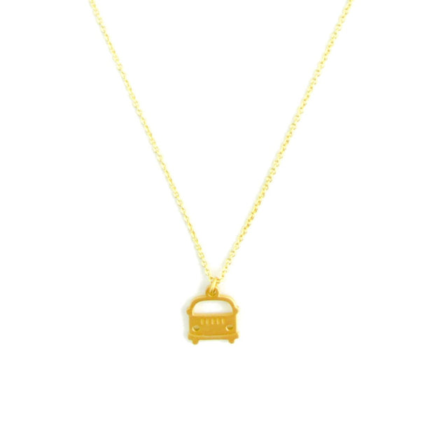 Necklace - Brooom! - Gold