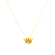 Necklace - Crown - Gold