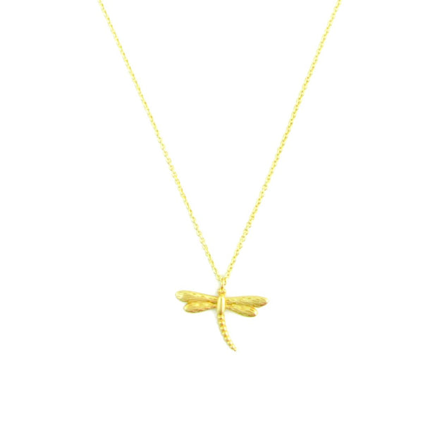 Necklace - Dragonfly - Gold