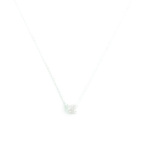 Necklace - Square - Silver