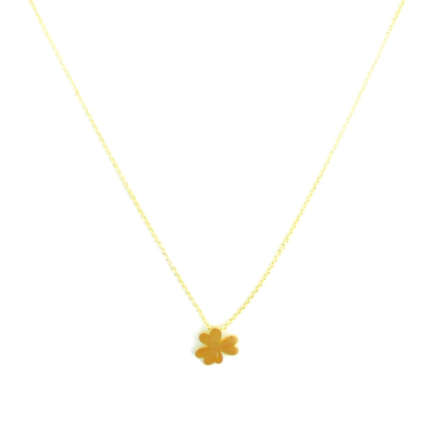 Necklace - Clover - Gold