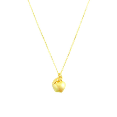 Necklace - Apple - Gold