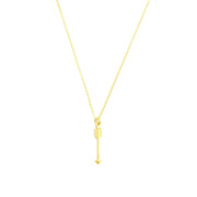 Necklace - Arrow - Gold