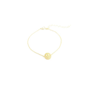 Bracelet - Happy - Gold