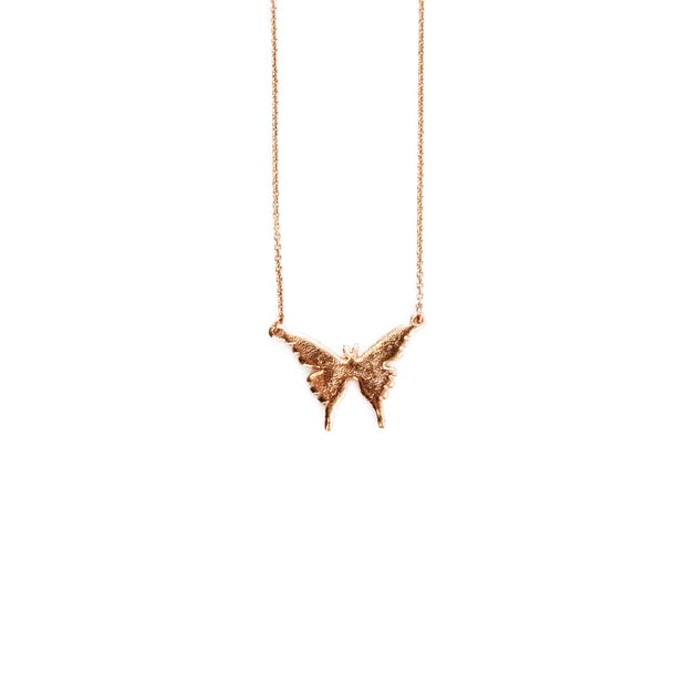 Rose Gold Necklace - BUTTERFLY