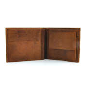 Mens Wallet - Cognac