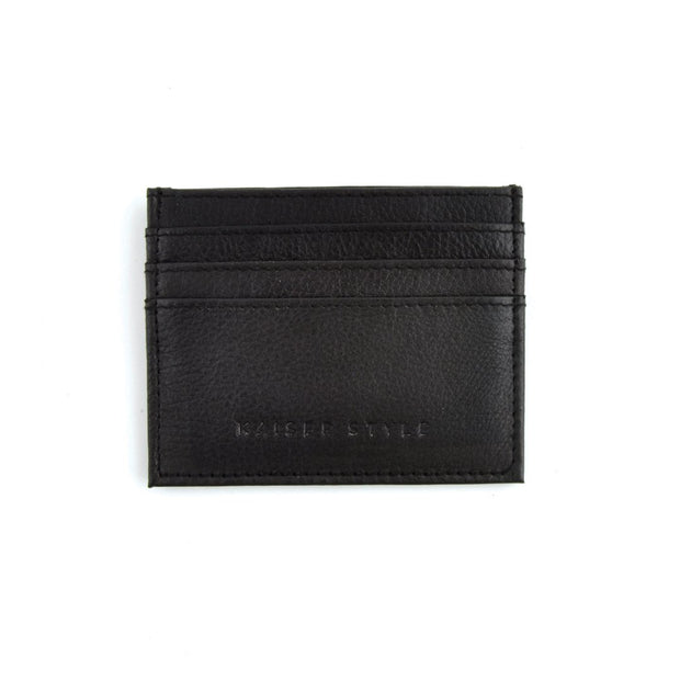 Mens Card Wallet - Black