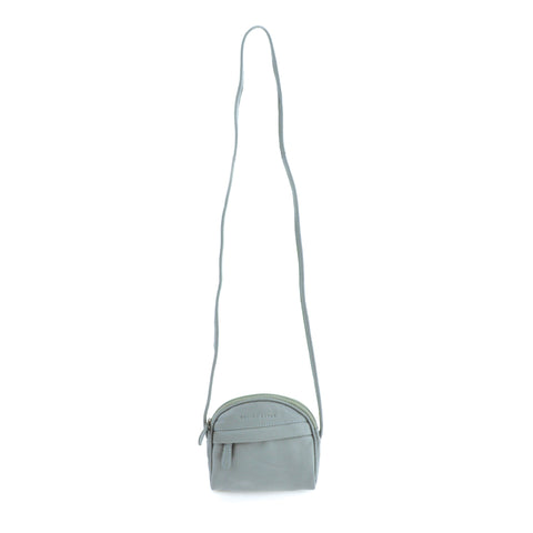 Curved Shoulder Bag - Arctic Blue