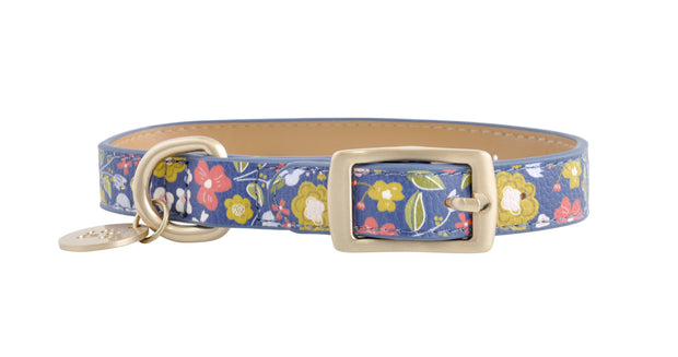 PU Leather Pet Collar S - POSY