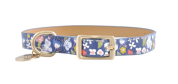 PU Leather Pet Collar M - POSY