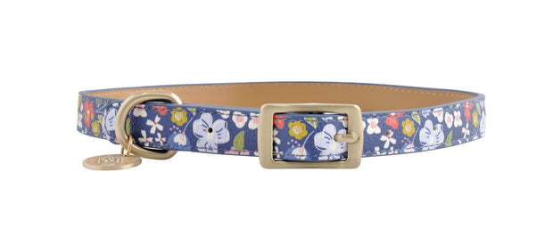 PU Leather Pet Collar L - POSY