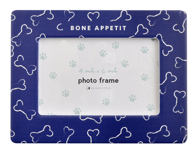 Ceramic Pet Frame - BONE APPETIT