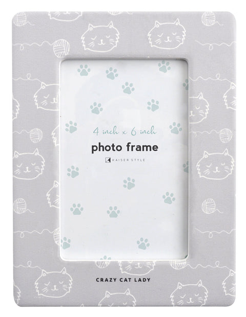 Ceramic Pet Frame - CAT LADY