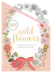 Colouring Book - The Wild Flowers