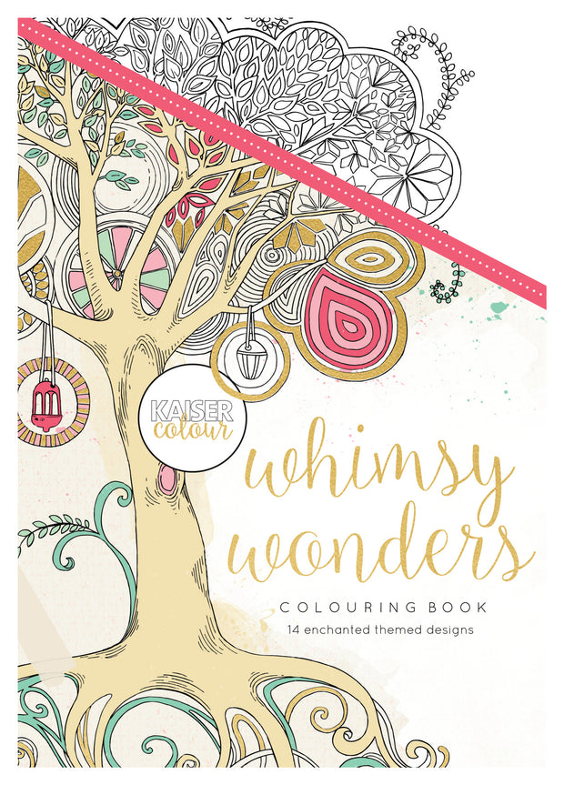 Colouring Book - Whimsy Wonders