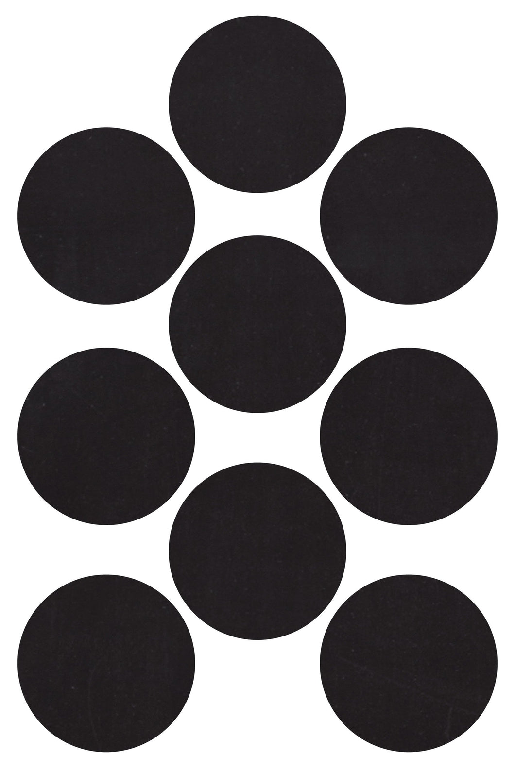 Chalkboard Circle Stickers - 16pcs - 2 Sheets