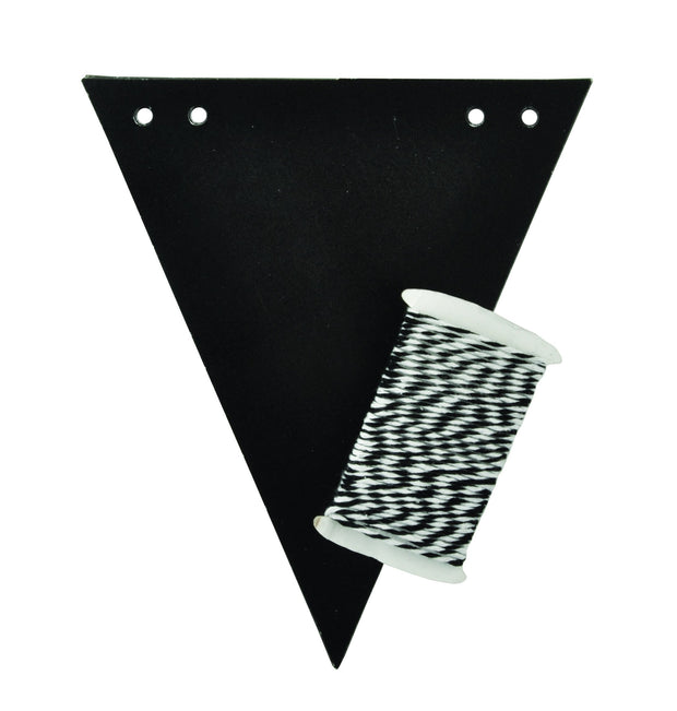 Chalkboard Flags Bunting Kit - 14 Sheets