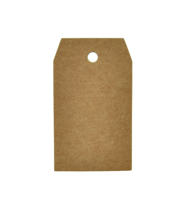 Kraft Tags Small Square - 12pcs