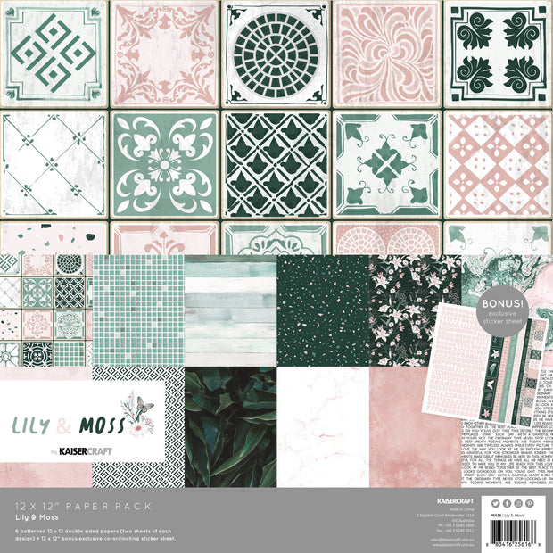 Paper Pack - Lily & Moss