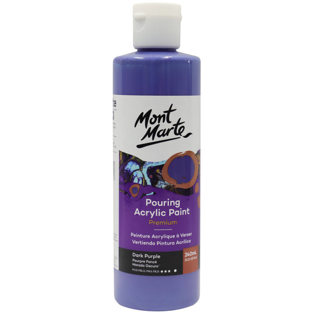 Pouring Acrylic 240ml - Dark Purple