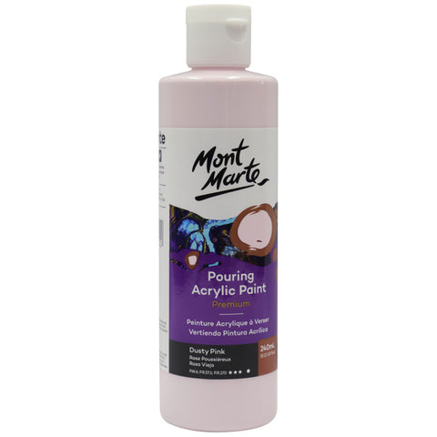 Pouring Acrylic 240ml - Dusty Pink
