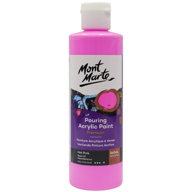 Pouring Acrylic 240ml - Hot Pink