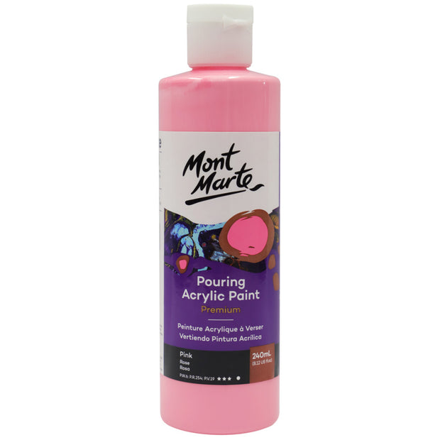 Pouring Acrylic 240ml - Pink