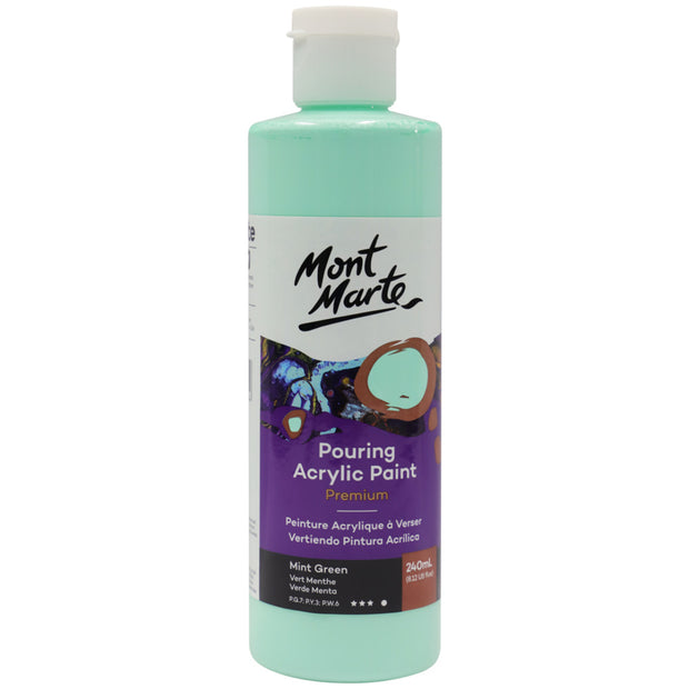 Pouring Acrylic 240ml - Mint Green